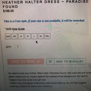 aff46b4ef2020 Show Me Your MuMu Dresses - Show me your mumu: Heather halter-paradise found
